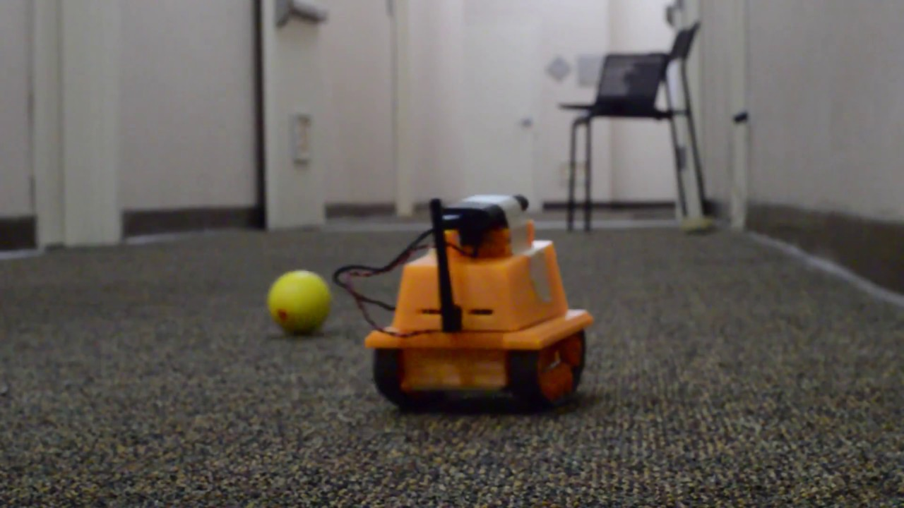 OpenCV - Object Tracking / Following Robot Using Raspberry Pi