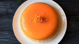 Муссовый торт Кокос - манго - апельсин ❤ Cooking with Love