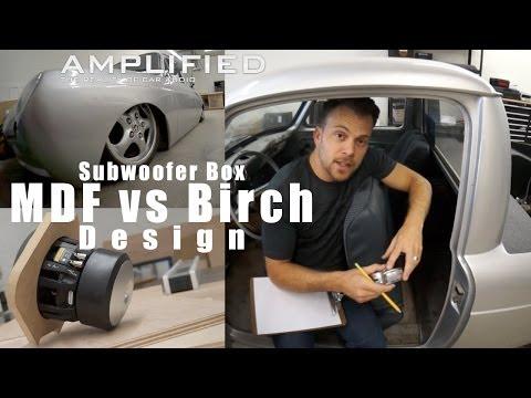 mdf vs birch ply speaker cabinet 3