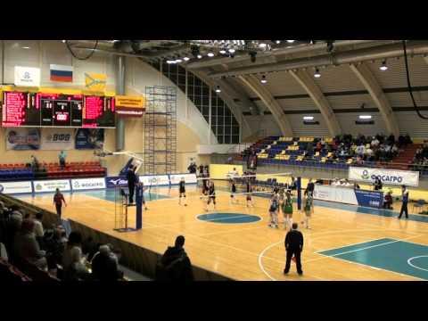 Classic volleyball RUSSIA League B 2016 Final games Severyanka-2 (Cherepovets) - Altai (Barnaul)