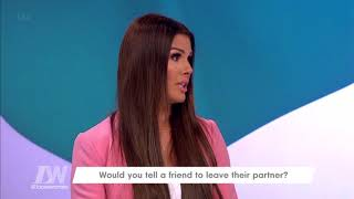 Rebekah Vardy Argues With Herself as Jamie Refuses to Get Involved | Loose Women