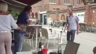 Drunk People Fighting Non Humans