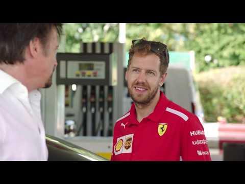 THE PERFECT DRIVE: Hammond vs May ft. Sebastian Vettel | Shell V-Power