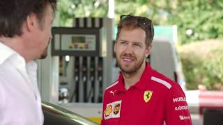 THE PERFECT DRIVE: Hammond vs May ft. Sebastian Vettel | Shell V-Power