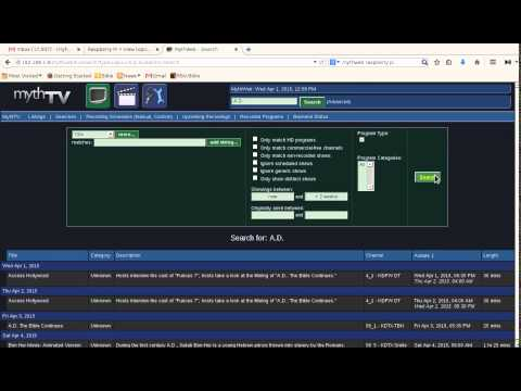 [Full-Download] Mythtv-hdhomerun-multirec-setup-and-overview