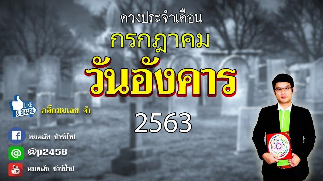 ดวงคนเกิดวันอังคาร ประจำเดือนกรกฎาคม 2563 By หมอพัช ชัวร์ป๊าป