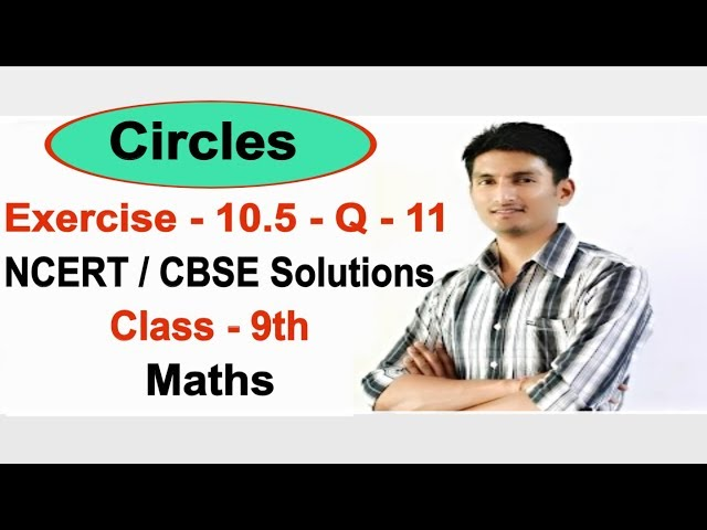 Chapter 10 Exercise 10.5 Question 11 - Circles class 9 maths - NCERT Solutions