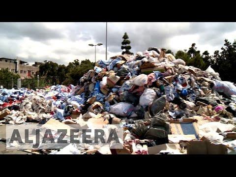 Lebanon struggling with rubbish collection again