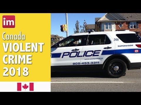 Crime In Canada - Crime Rates In Toronto, Vancouver, Winnipeg, Calgary