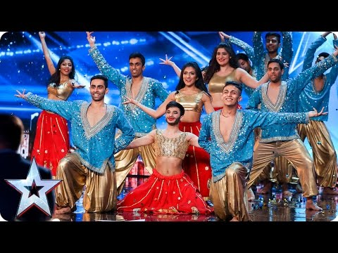 London School of Bollywood have a surprise in store | Auditions Week 3 | Britain's Got Talent 2017