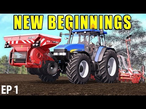 NEW BEGINNINGS | Farming Simulator 17 | The Valley The Old Farm - Episode 1