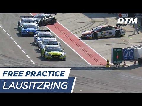 DTM Lausitzring 2017 - Free Practice 3 - RE-LIVE (German)