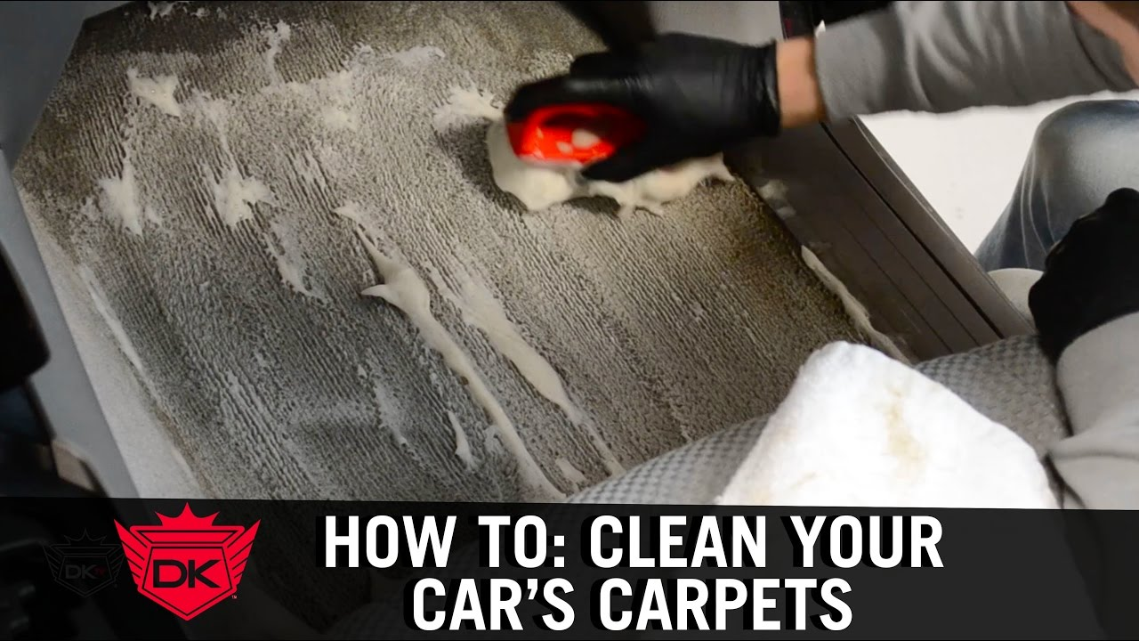 How To Clean Your Car S Carpets At Home