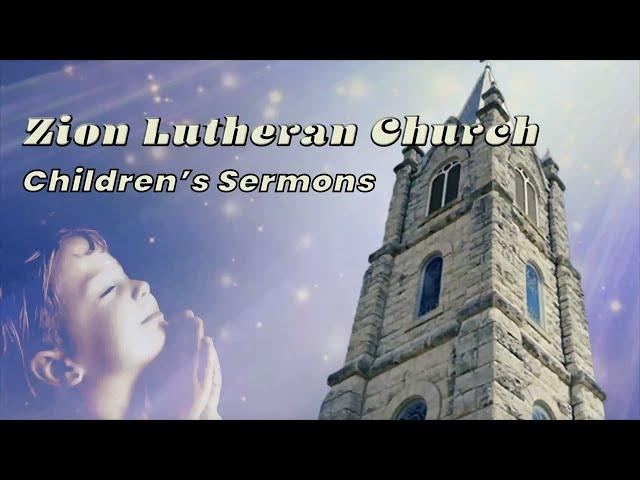 Children's Sermon - 20200614 - Pastor Lisa