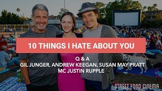 Street Food Cinema 10 Things I Hate About You Q&A 7.16.16