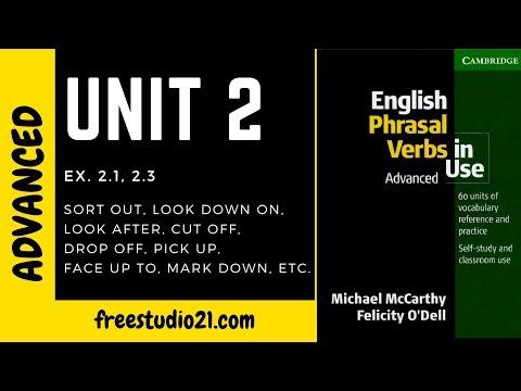 English Phrasal Verbs In Use - Unit 2 - переходные и непереходные глаголы