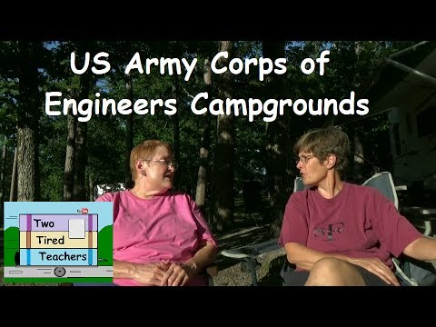 US Army Corps Of Engineers Campgrounds