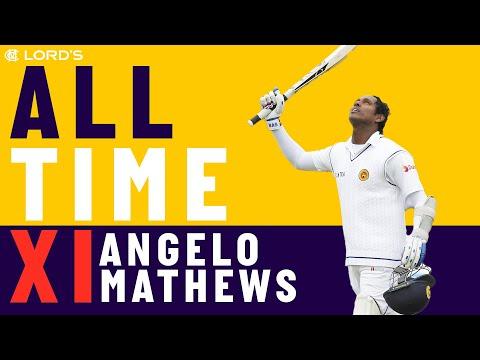 Tendulkar, Kallis & Muralitharan - Angelo Mathews' All Time XI