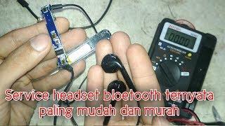 Cara Membenarkan Headset Yang Rusak