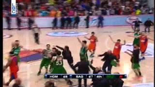 pepsi lebanese basketball championship 14 15 buzzer beater desmond penigar