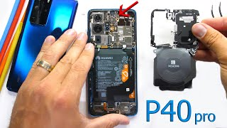 Huawei P40 Pro Teardown - Where is the Ear Piece?