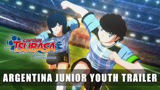CAPTAIN TSUBASA – Argentina Junior Youth Trailer