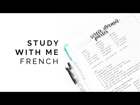Study With Me French