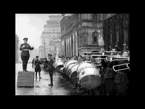 """""""Russian march"""" (Semeon Tchernetsky, 1945)"""