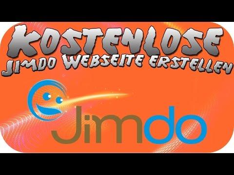 Kostenlose Jimdo Webseite erstellen - Tutorial [HD+] [Deutsch]