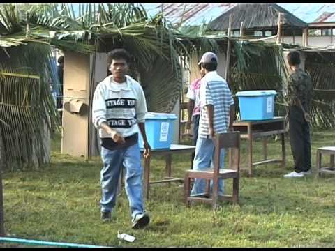 east timor referendum day