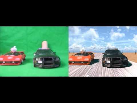 Transformers Green Screen comparison