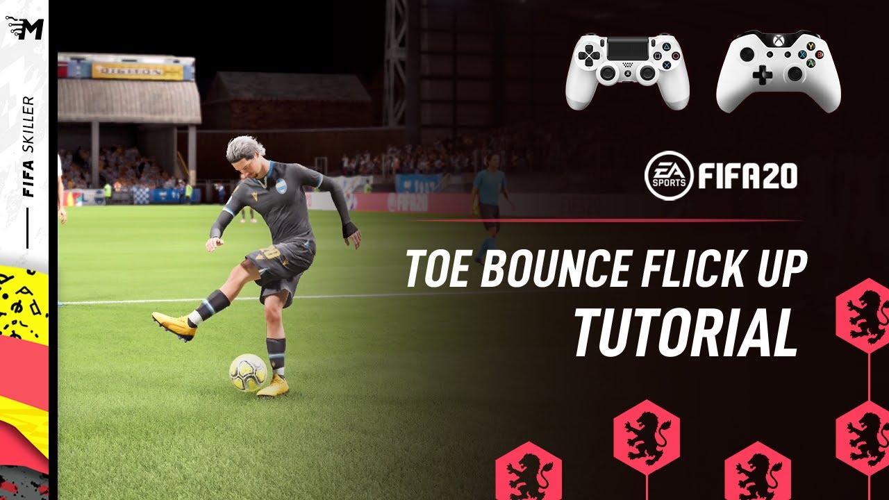 FIFA 20 | Toe Bounce Flick Up Tutorial