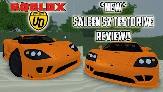 *NEW* SALEEN S7 TESTDRIVE REVIEW!!!| Ultimate Driving (Roblox)