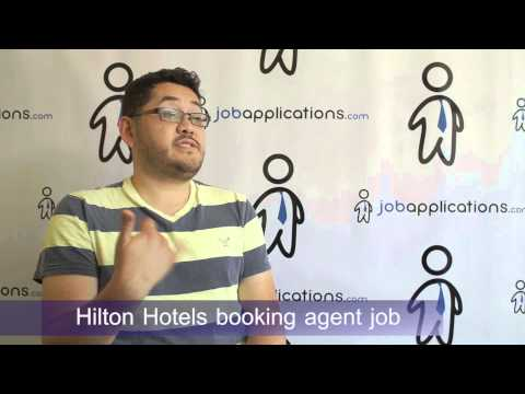 Hilton Hotels Interview - Booking Agent
