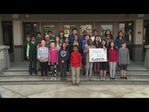 Spelling Bee Cheer: Yudhith Anil, Kolb Elementary School, Dublin