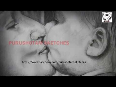 Mothers Love Pencil Sketch | Pencil Drawings | Purushotam Academy thumbnail