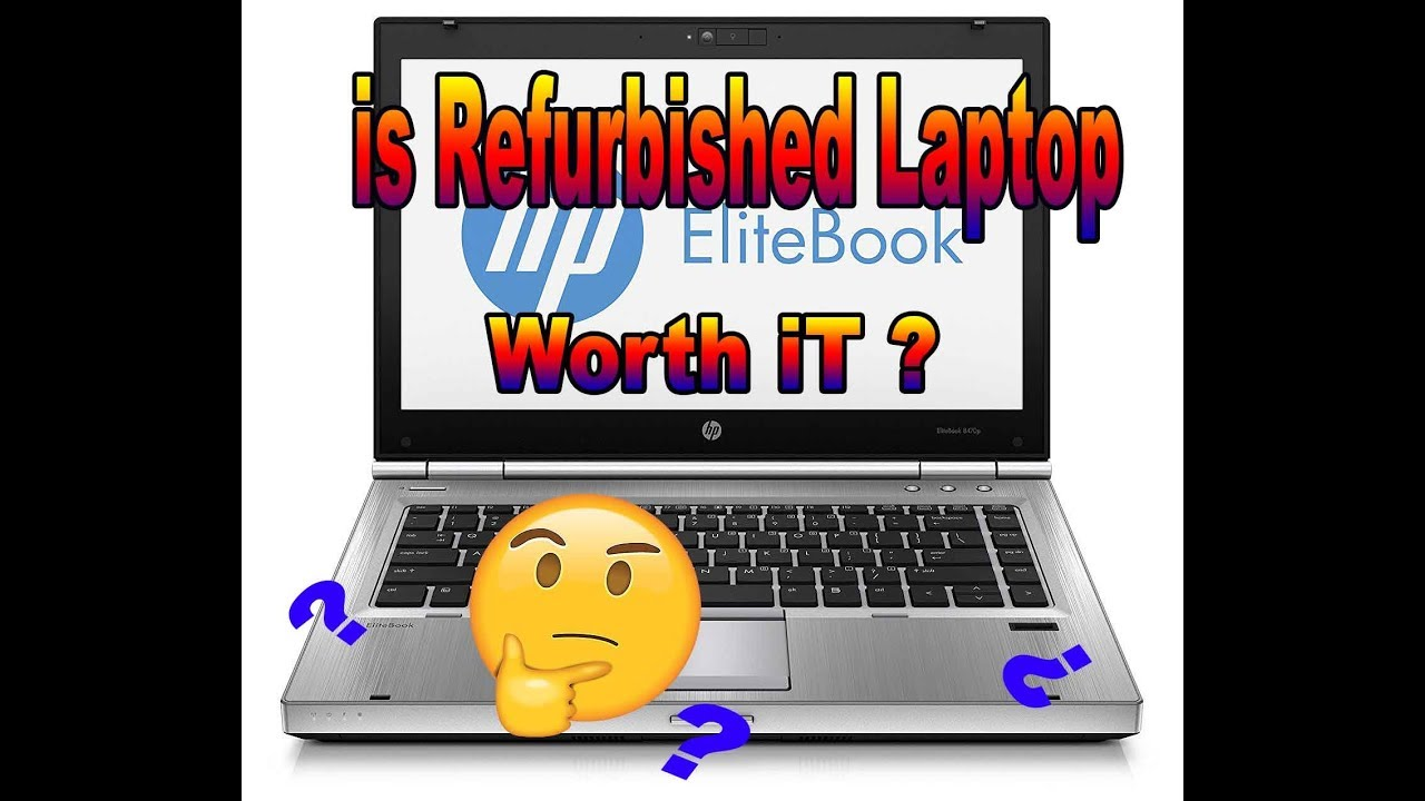 HP EliteBook 8470p Unbox Why Did i Buy a ( Refurbished Laptop?? )