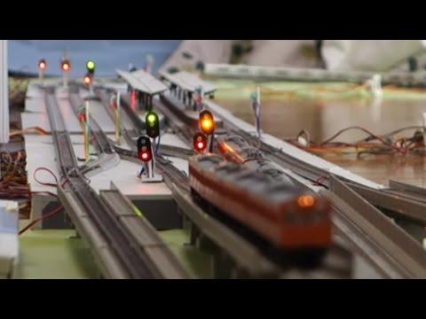 鉄道模型西九条駅の信号連動装置を再現してみた1~基本機能編~