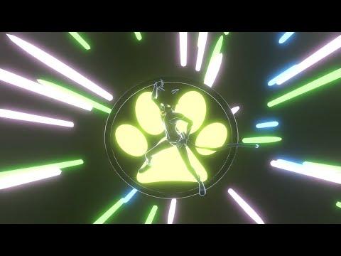 [Miraculous Ladybug Transformation] Cat Noir  3D NEON Version [FAN MADE]/シャノワール 変身シーン [3Dネオン.ver]