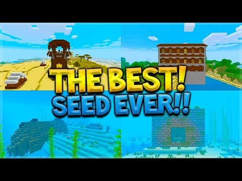 This WAS The Best EVER Minecraft Seed In 2017 It's 10X Better Now!!