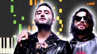 Amigos Con Derechos - Reik, Maluma - Piano - Synthesia
