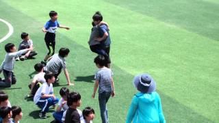 2016 동화초 운동회 총연습- 고학년 이어달리기 계주