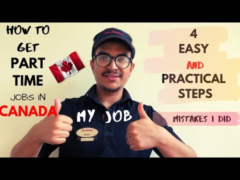 VLOG #3 | HOW TO FIND PART TIME JOBS IN CANADA | SIMPLE STEPS