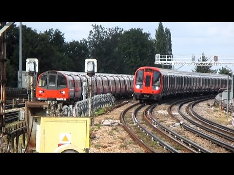 London Underground in Action - August 2015