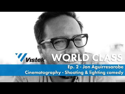 Shooting & lighting comedy w/ Cinematographer Jon Aguirresarobe