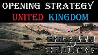 Hearts of Iron 4 Opener - United Kingdom starting strategy guide
