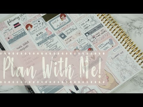 Plan With Me! // Feat: ArtBox Stickers! // Erin Condren Vertical
