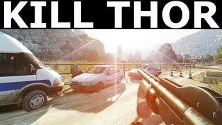 Dying Light The Following - Kill THOR (Location) - Legendary Extreme Difficult Giant Enemy