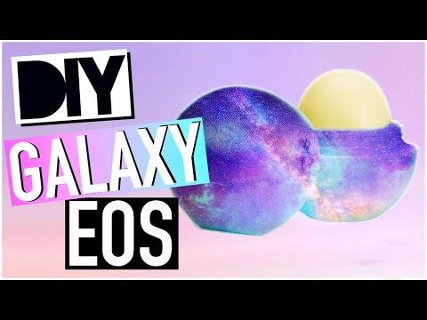 DIY EOS lip balm: Galaxy Inspired!