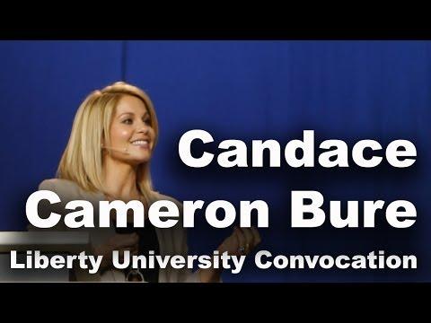 Candace Cameron Bure - Liberty University Convocation